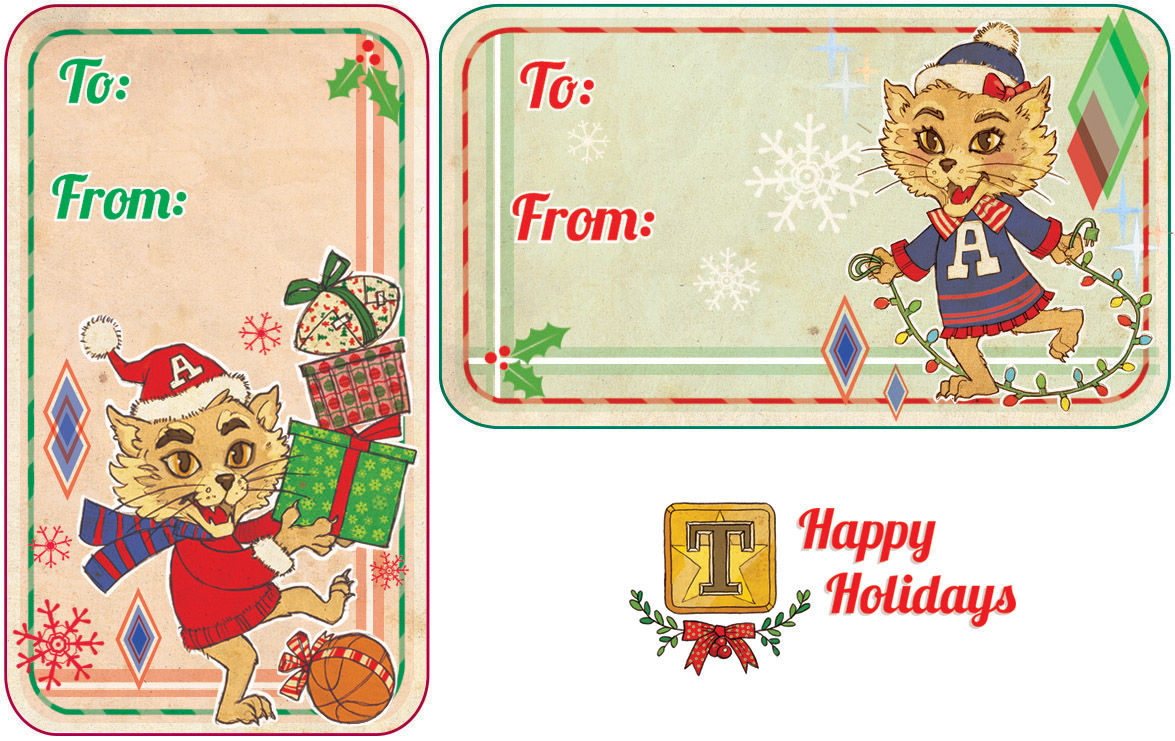 Print Your Own Wilbur And Wilma Gift Tags Holidays In Tucson