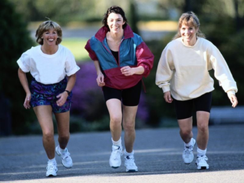 Regular exercise and staying slim can lower the risk for a hard-to-treat type of heart failure