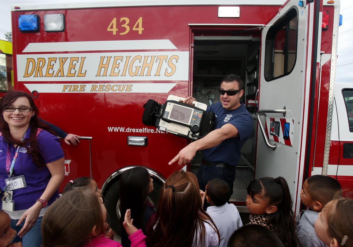 Kindergarten fire safety graduation