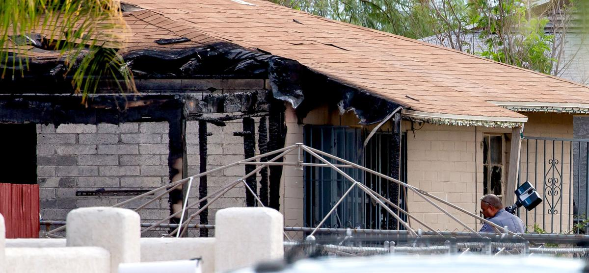 Shooting, fatalities, house fire