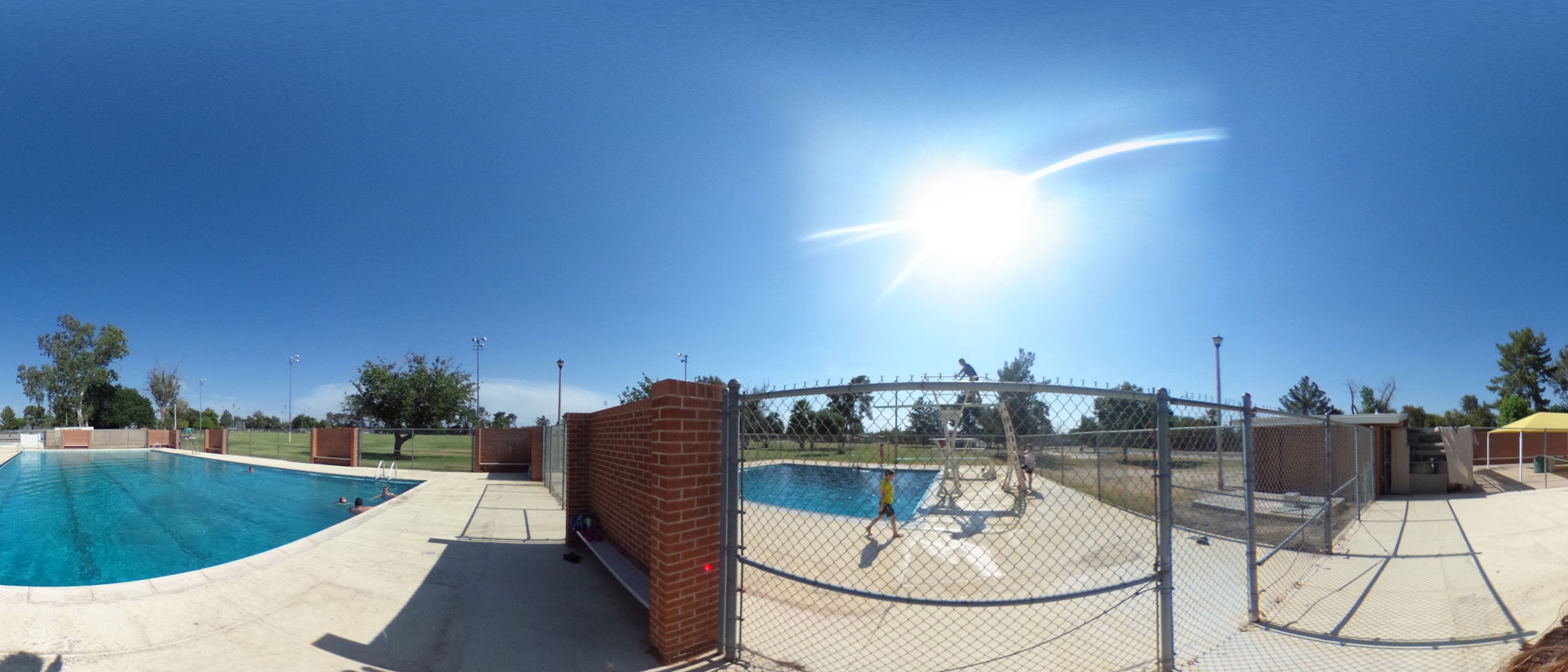 A 360 view of Palo Verde Pool