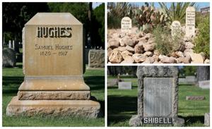 Here's a look at 34 famous Arizona gravestones