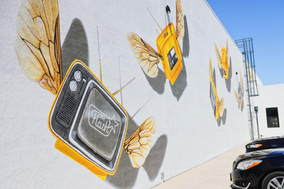 T-Bees mural