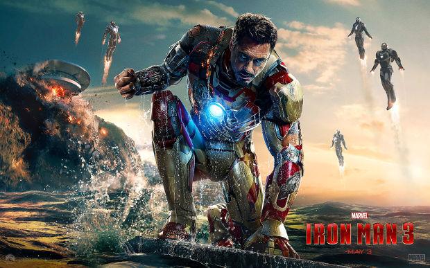 "No. 10: ""Iron Man 3"" with $2.2 million (last week No. 10)"