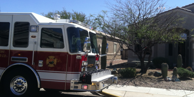 Oro Valley boy burned in house fire, airlifted to hospital