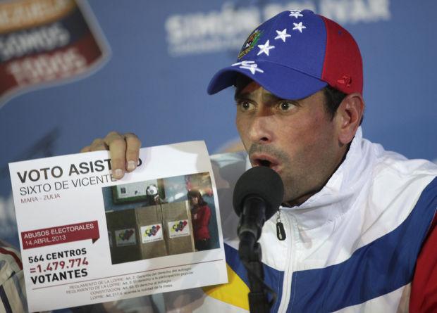 US accused of backing Venezuela unrest