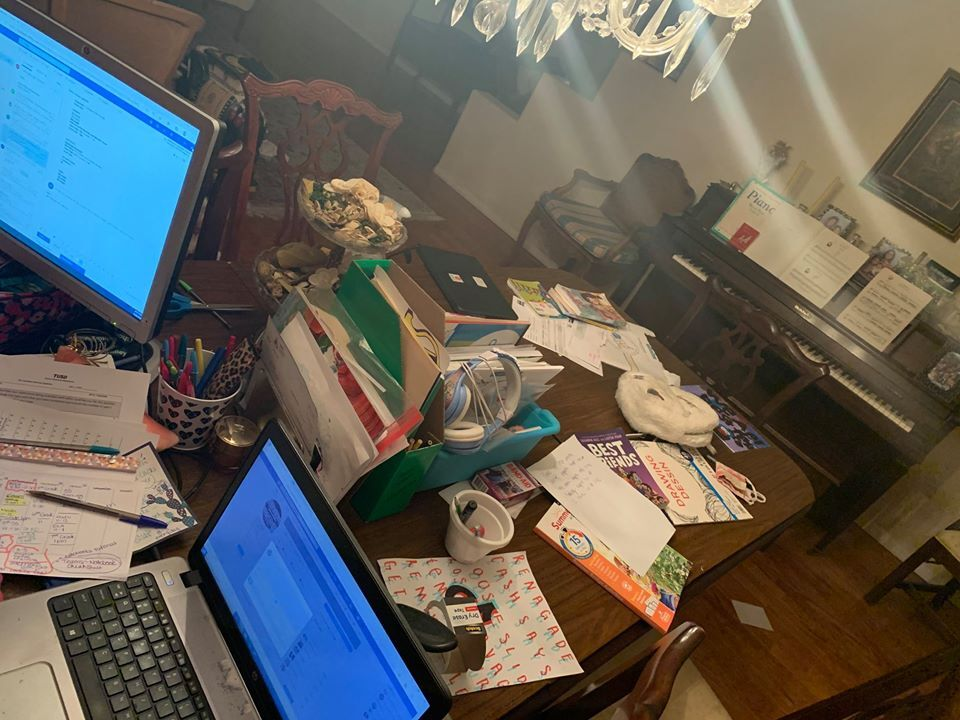 Katie Sabel Desk