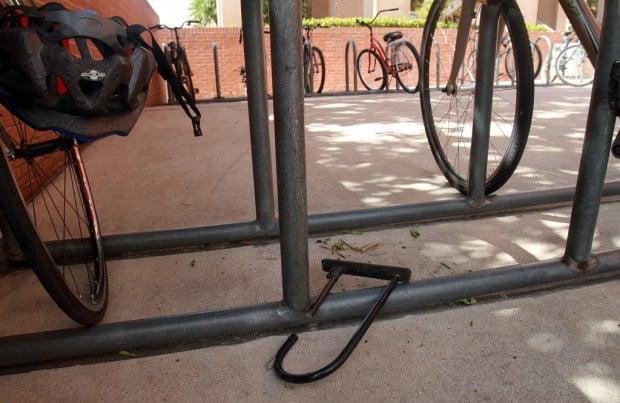 Grad puts UA bike theft on map