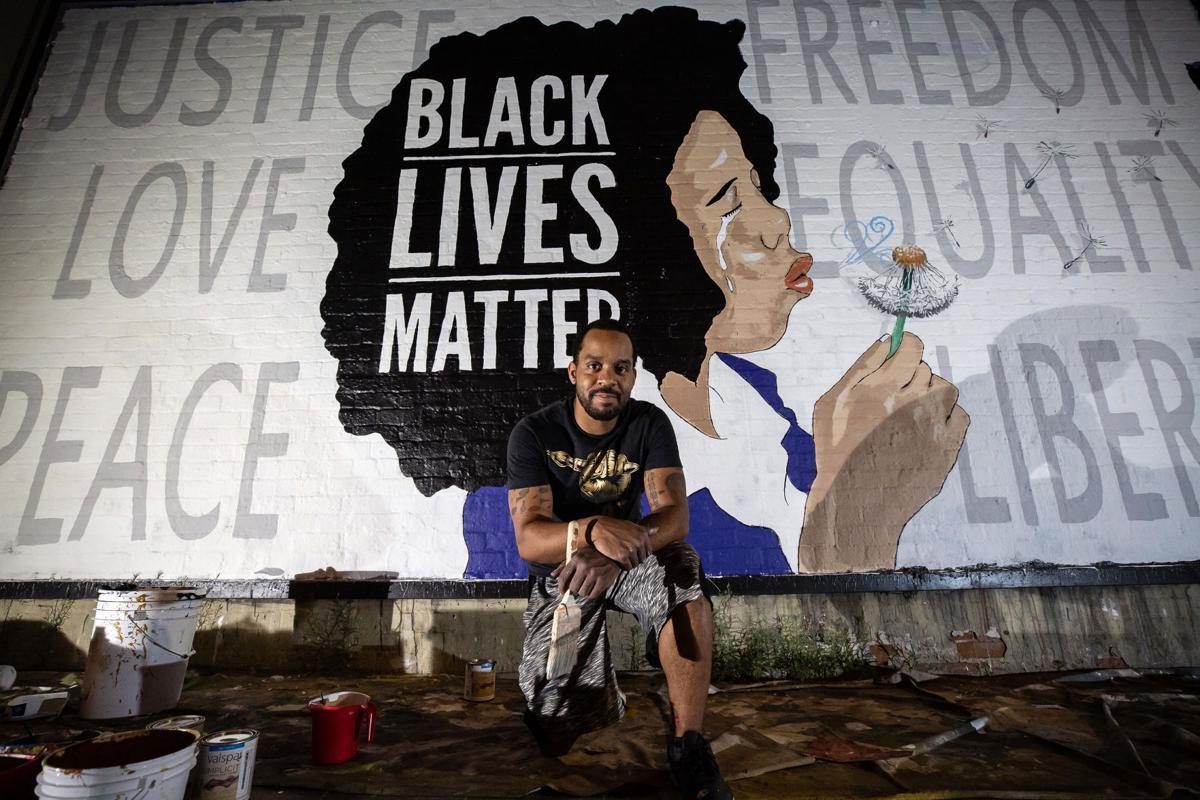 Robbie Lee Harris mural