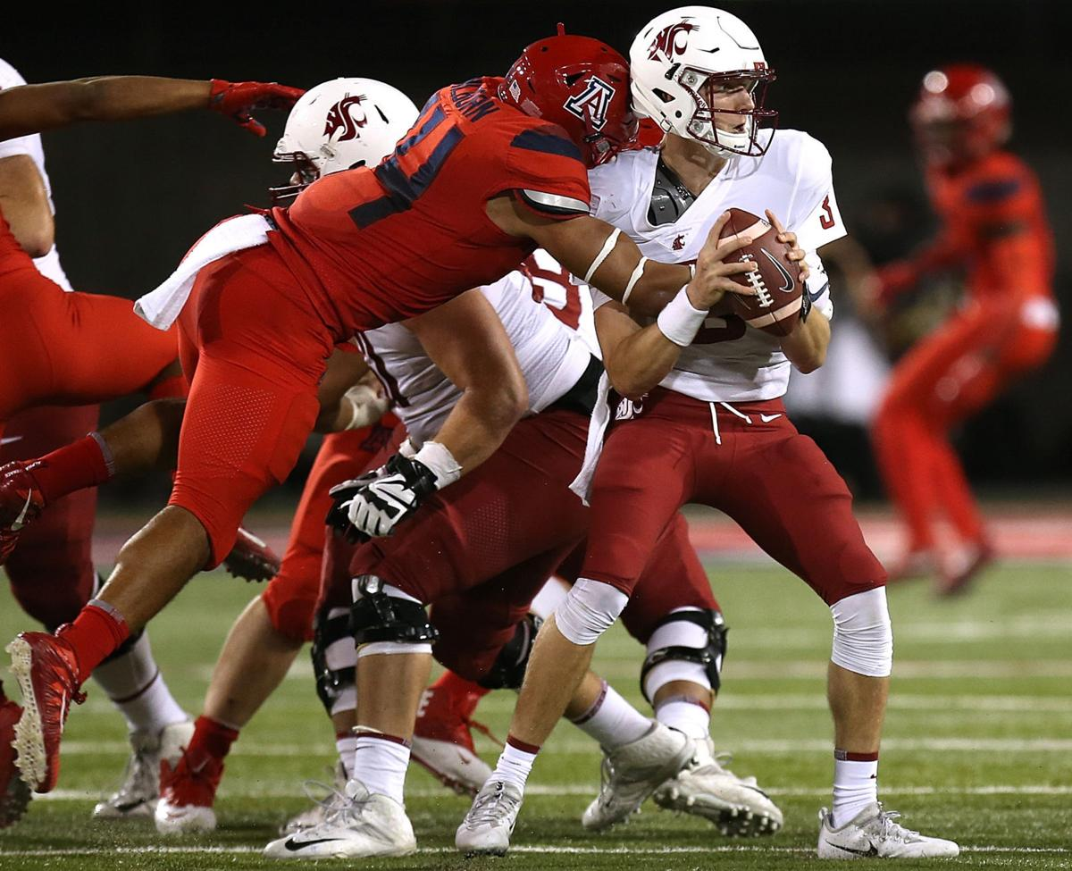 Arizona Wildcats vs. No. 15 Washington State Cougars college football