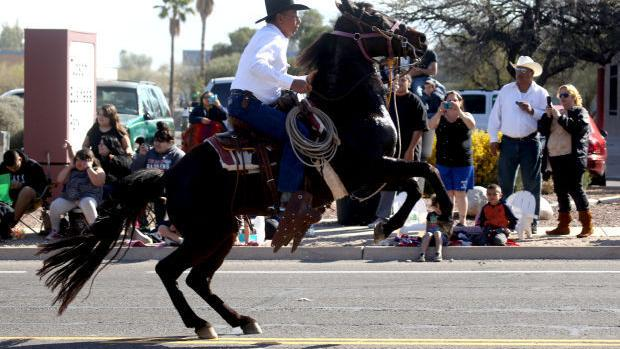 The Old West rises with the rodeo parade | Entertainment
