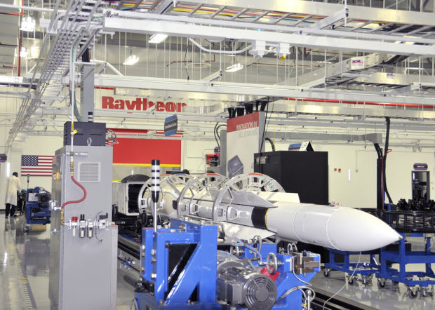 Raytheon Wins Contract For Latest Ship Defense Missile