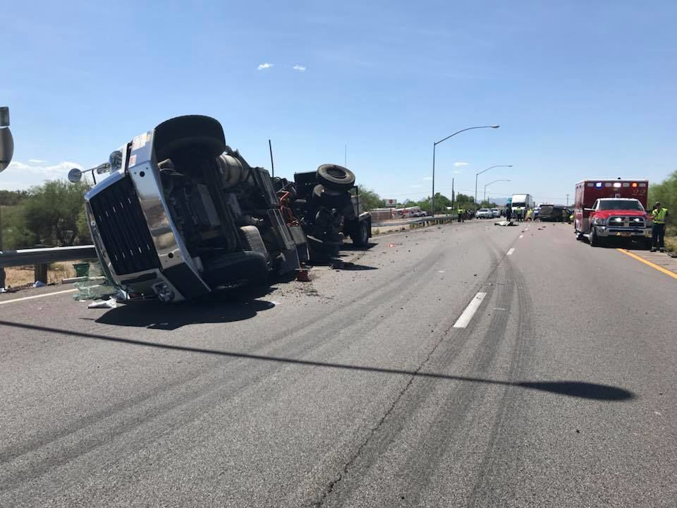 Woman killed in Tucson freeway crash after losing control of SUV