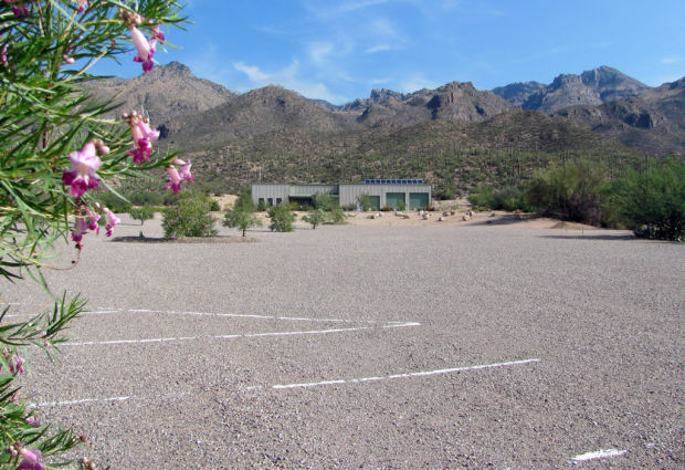 New trail surfaces at Sabino Canyon area