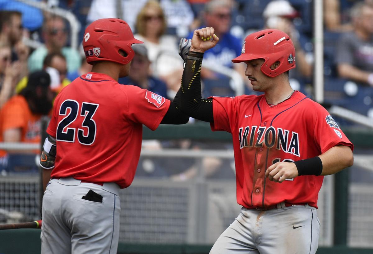 Arizona vs. Oklahoma State in College World Series