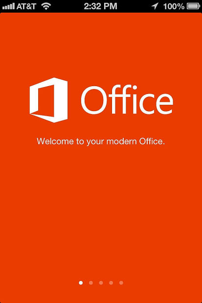 Office for iPhone helpful