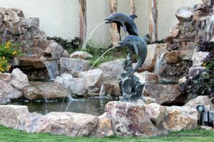 Fountain & Waterfall