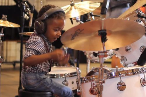 This Little Boy Has Some Serious Drumming Skills