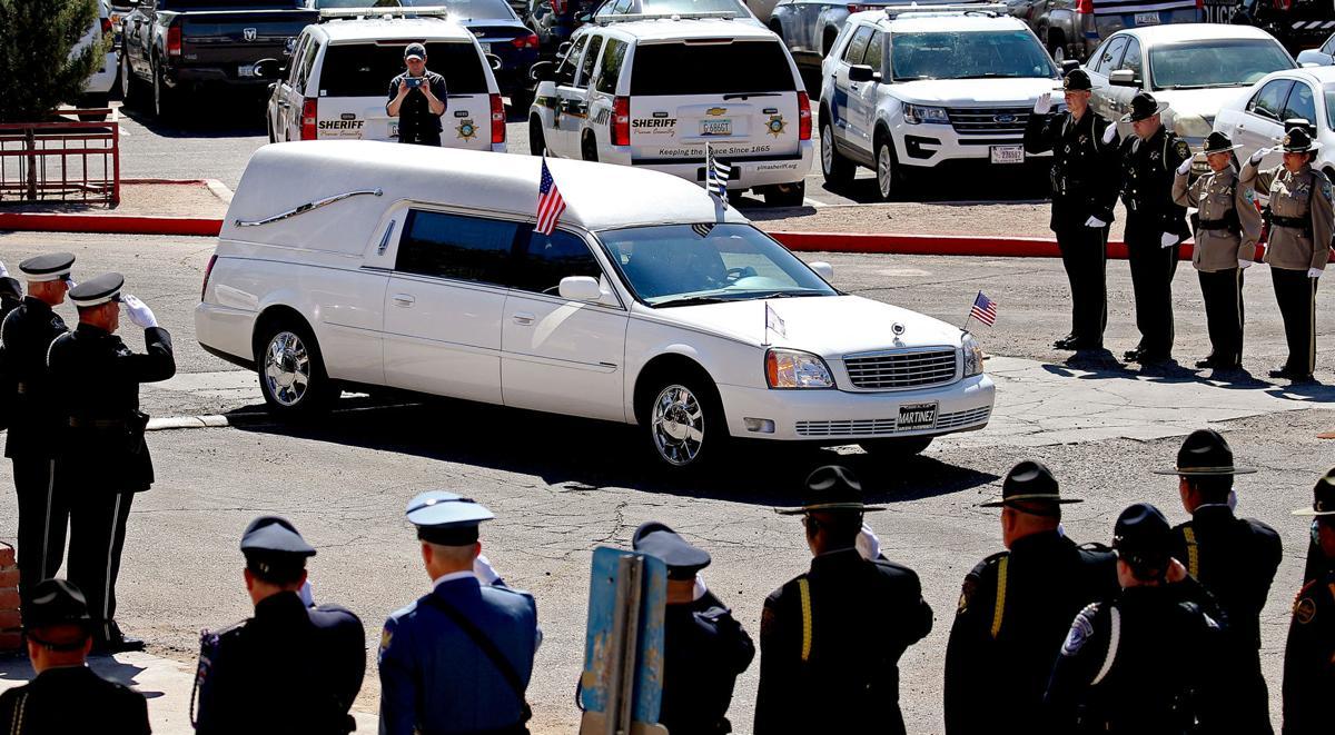 Funeral for slain Nogales Police officer Jesus Cordova