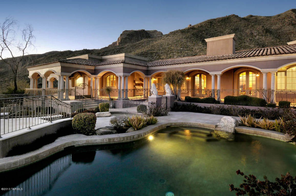 Luxury Homes In Tucson: 7582 N Secret Canyon Drive
