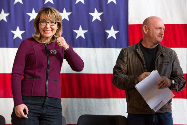 Giffords named honorary chairwoman for Hiring Our Heroes