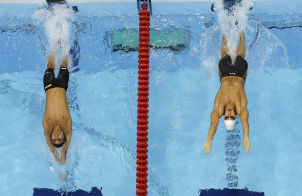 London Olympics: Swimming: Anchor leg ends up sinking Americans