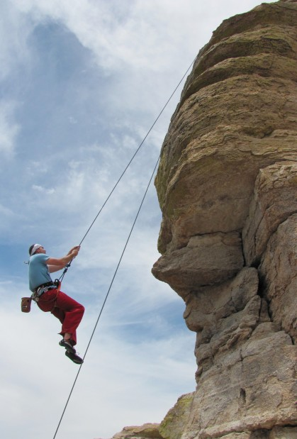 New climbers can learn ropes at Windy Point