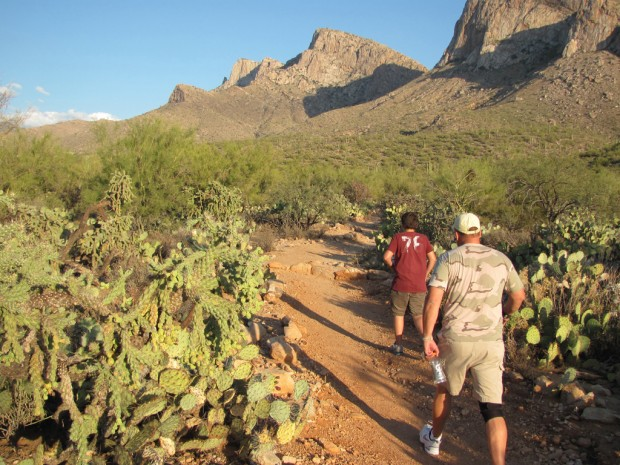 To hike off feast, relish bountiful trails here