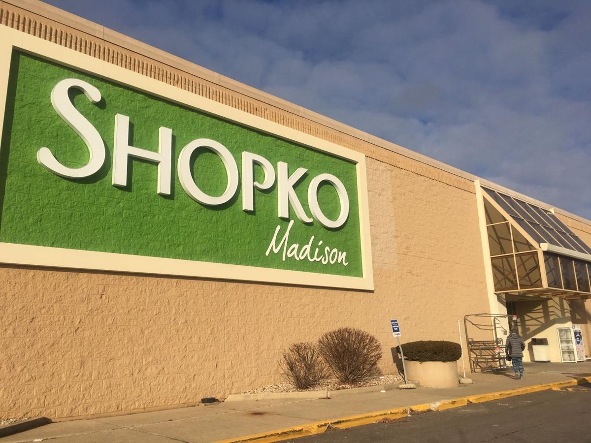 be648ac095 A customer walks into the Shopko on Mineral Point Road near West Towne Mall  on Wednesday shortly after the company announced it had filed for Chapter  11 ...