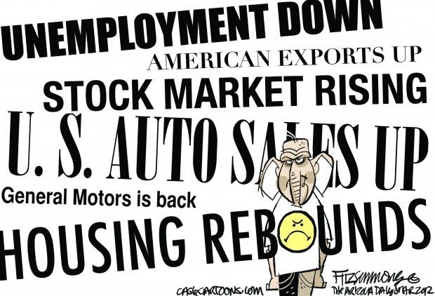 Daily Fitz Cartoon: Sad face