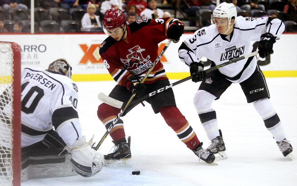 Ontario Reign vs. Tucson Roadrunners AHL hockey