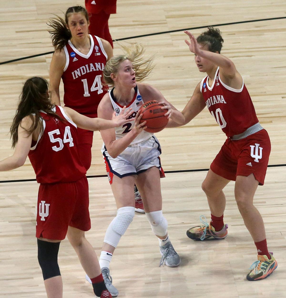 Arizona vs. Indiana, NCAA women's basketball
