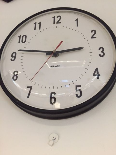Keep your hands off the clock