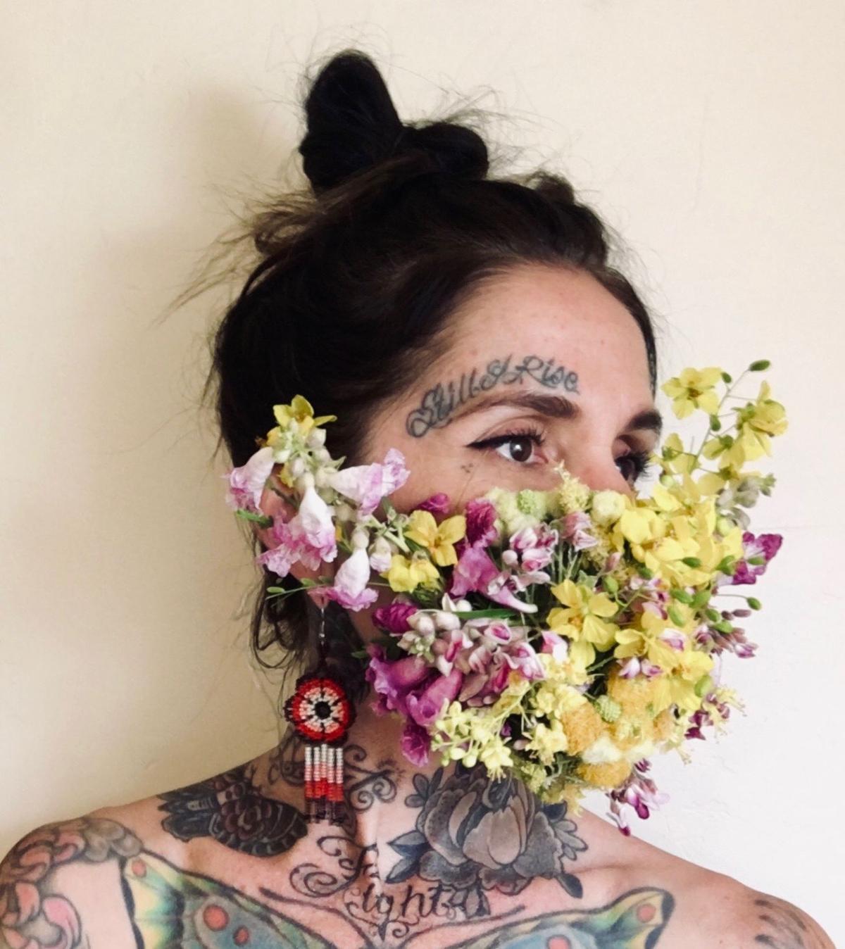 Wildflower Mask Racheal Rios