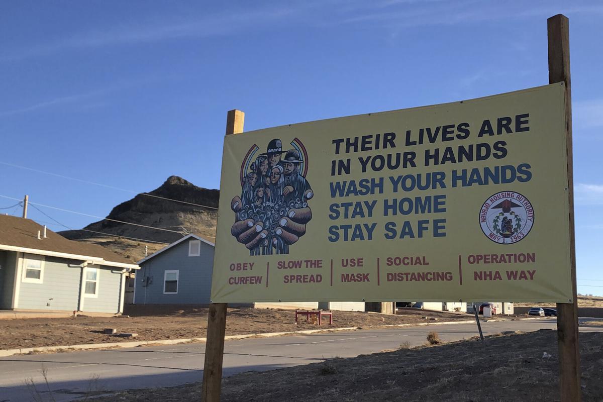 Virus Outbreak Navajo Nation