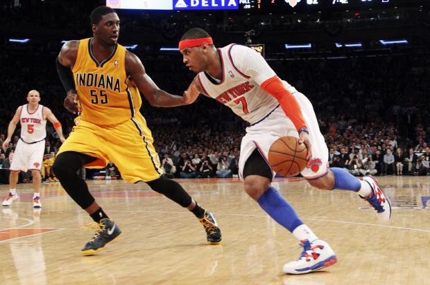 NBA playoffs: Knicks 105, Pacers 79: Huge run pulls New York even