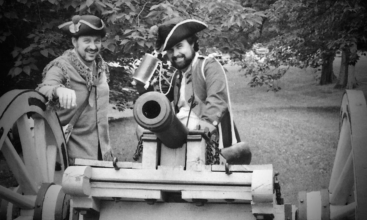 Yorktown gunners