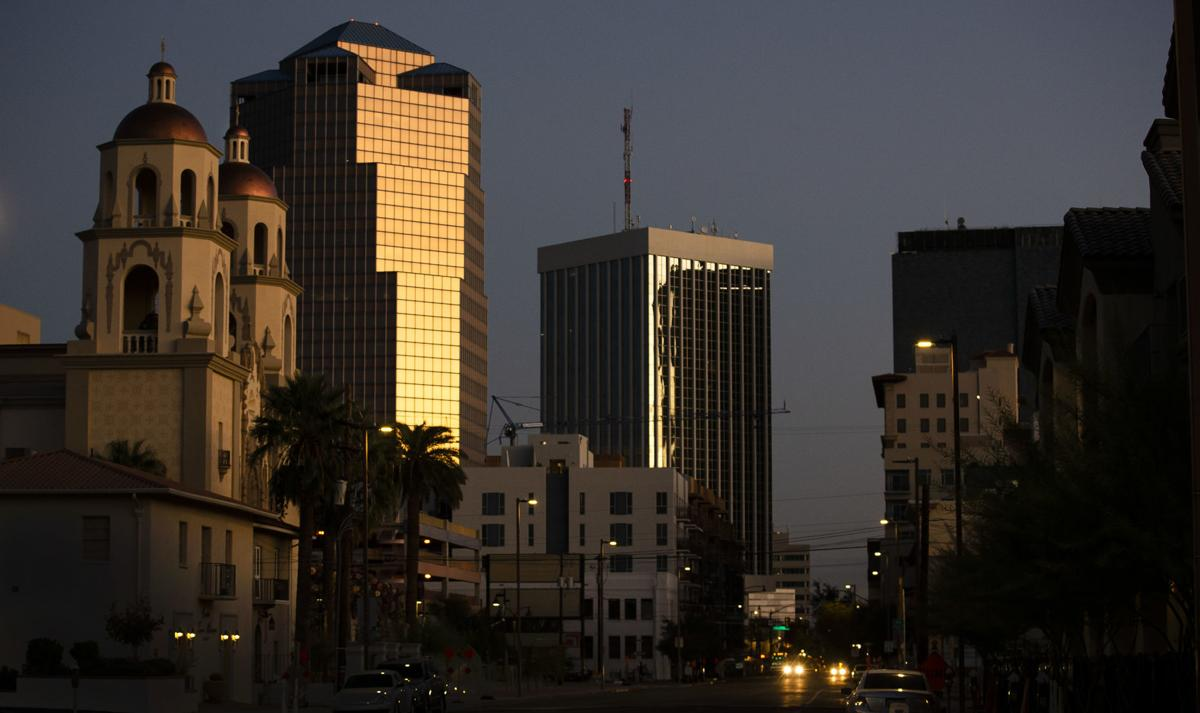 Sunrise in Downtown Tucson