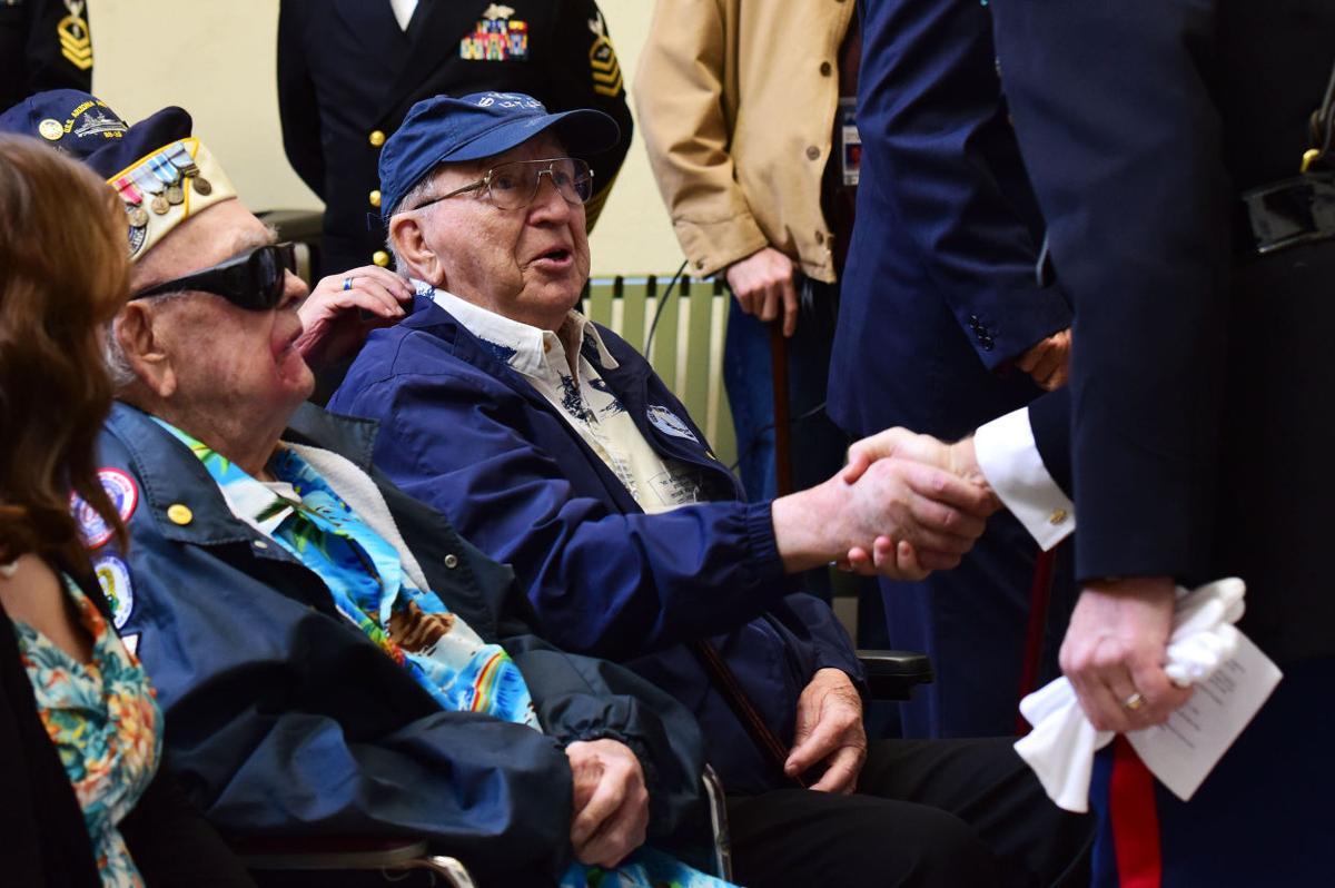 Pearl Harbor memorial ceremony