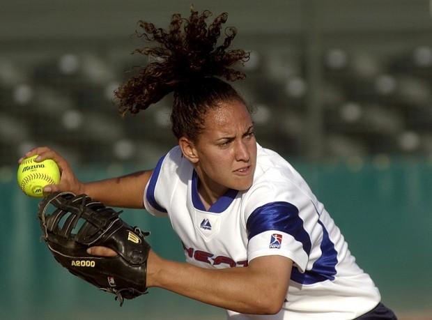 27 Days Away: Former Lancer Flowers took softball gold in '04