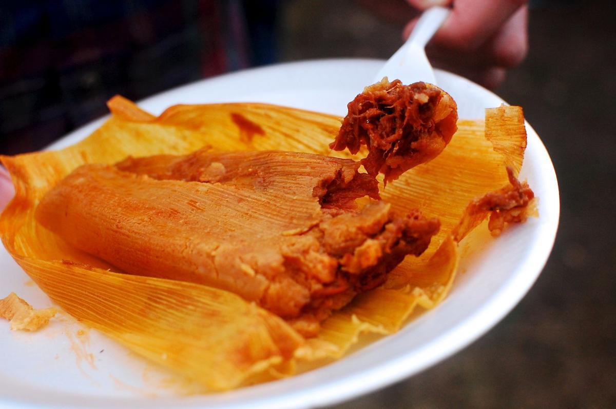tradition of the tamales Tradition of the tamales eating tamales when they first come out of the pot is a supernatural experience the steam rises, and the delightful aroma that make's my mouth water and my vocal cords say yummy.