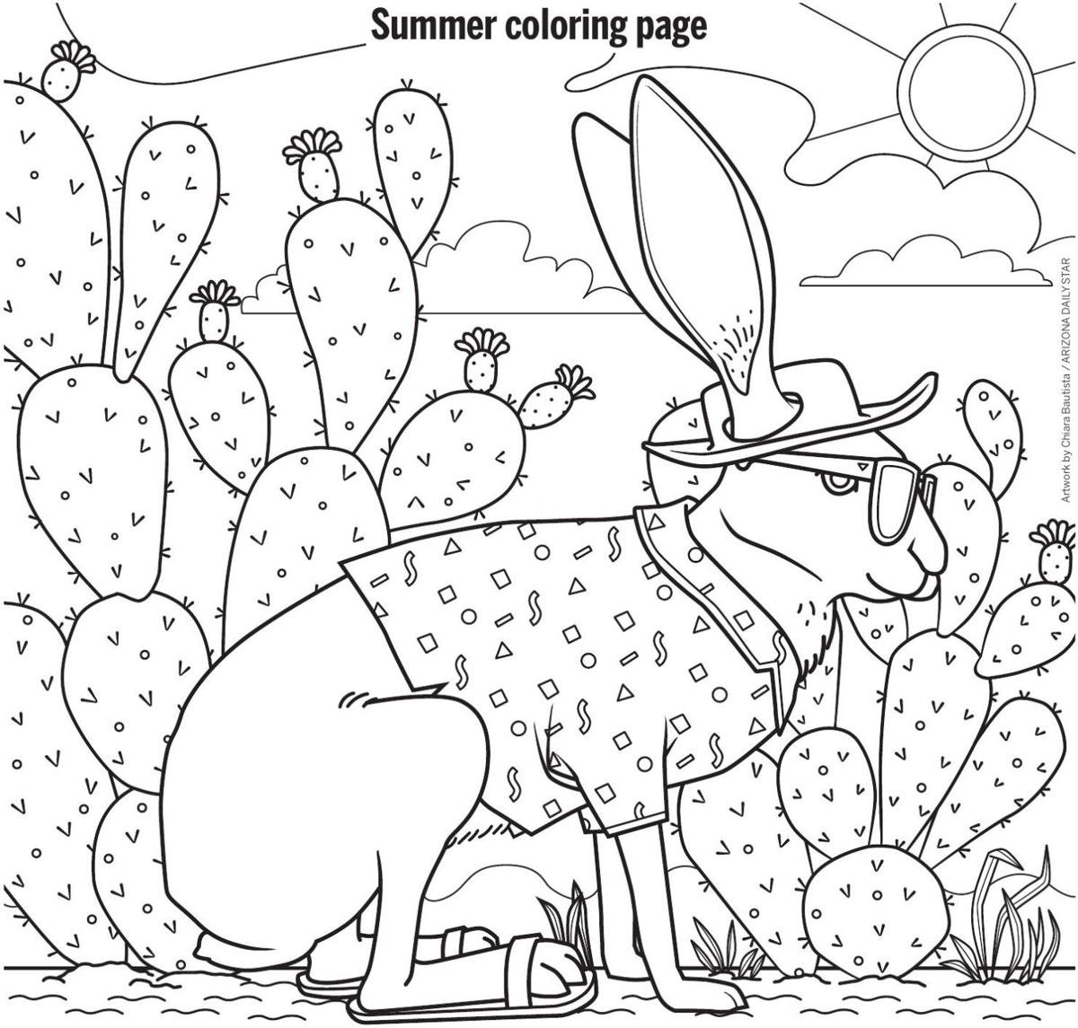 July 11 coloring page