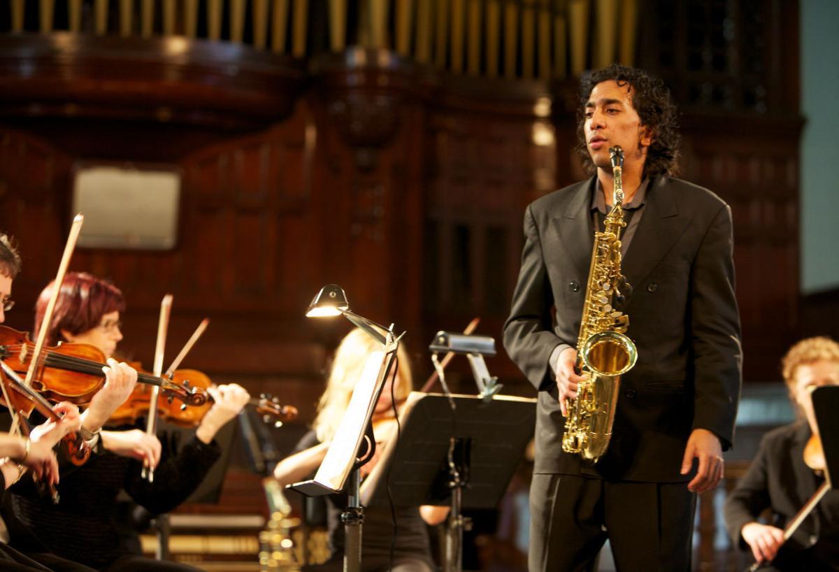 Saxophonist returns