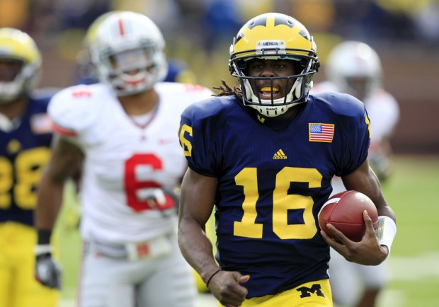 No. 17 Michigan 40, Ohio State 34: QB Robinson 'glad I stayed' after Wolverines beat rival