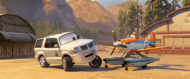 No. 10 - 'Planes: Fire and Rescue' with $2.4 million (last week No. 6)