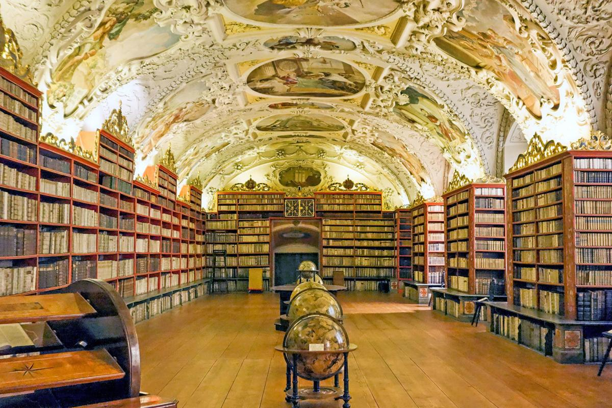 Visiting Europe's great libraries