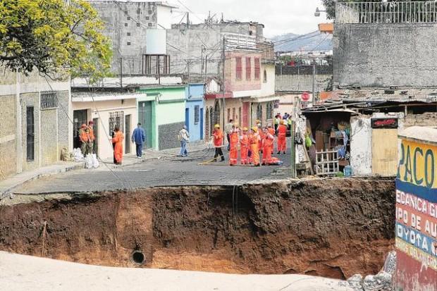 Guatemala Sinkhole Today