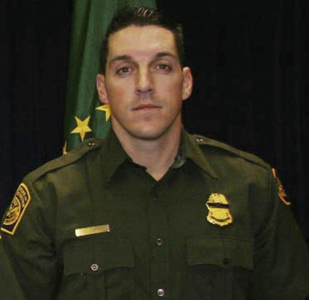 Single shot killed border agent