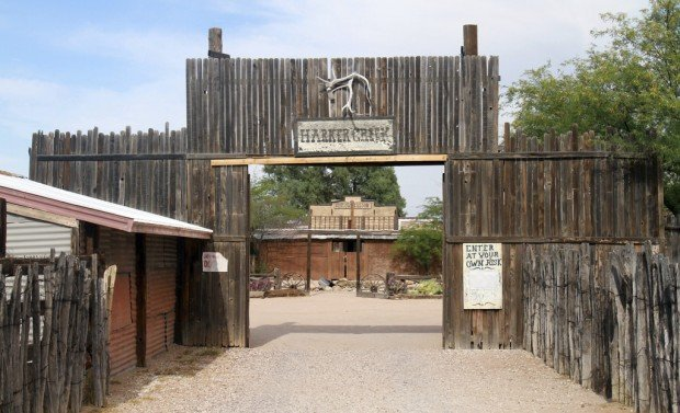 Tucson Oddity: His Old West town lives on