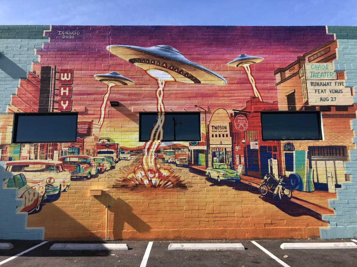Ignacio UFO Mural
